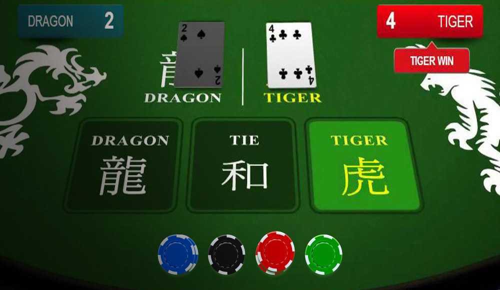 เทคนิคในการเล่นไพ่เสือมังกร  ออนไลน์ ให้เหมือนกับเป็นเซียน